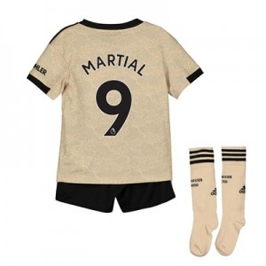 Manchester United Away Mini Kit 2019 - 20 with Martial 9 printing