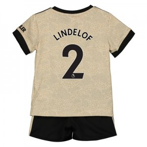 Manchester United Away Baby Kit 2019 - 20 with Lindelof 2 printing