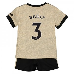 Manchester United Away Baby Kit 2019 - 20 with Bailly 3 printing