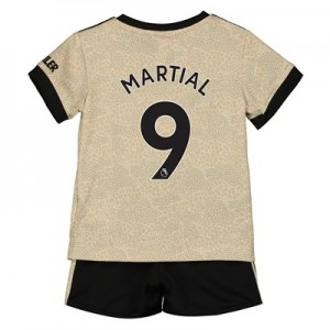 Manchester United Away Baby Kit 2019 - 20 with Martial 9 printing