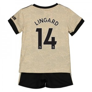 Manchester United Away Baby Kit 2019 - 20 with Lingard 14 printing