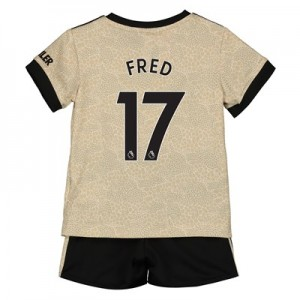 Manchester United Away Baby Kit 2019 - 20 with Fred 17 printing