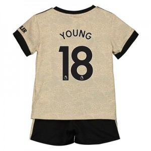 Manchester United Away Baby Kit 2019 - 20 with Young 18 printing