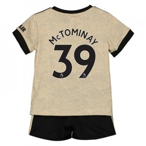 Manchester United Away Baby Kit 2019 - 20 with McTominay 39 printing