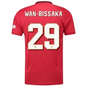 Manchester United Cup Home Shirt 2019 - 20 with Wan-Bissaka 29 printing