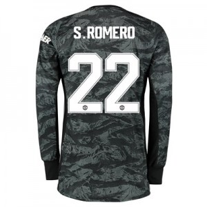 Manchester United Cup Away Goalkeeper Shirt 2019 - 20 with S.Romero 22 printing