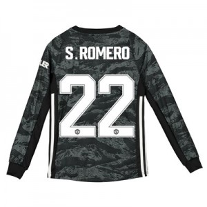 Manchester United Cup Away Goalkeeper Shirt 2019 - 20 - Kids with S.Romero 22 printing