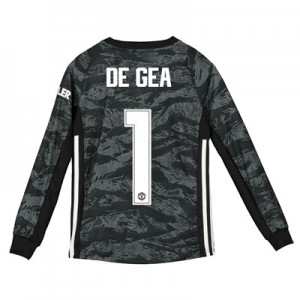 Manchester United Cup Away Goalkeeper Shirt 2019 - 20 - Kids with De Gea 1 printing