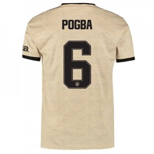 Manchester United Cup Away Shirt 2019 - 20 with Pogba 6 printing