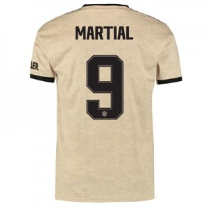 Manchester United Cup Away Shirt 2019 - 20 with Martial 9 printing