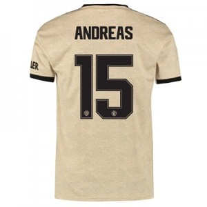 Manchester United Cup Away Shirt 2019 - 20 with Andreas 15 printing