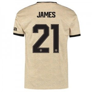 Manchester United Cup Away Shirt 2019 - 20 with James 21 printing