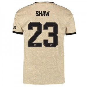 Manchester United Cup Away Shirt 2019 - 20 with Shaw 23 printing