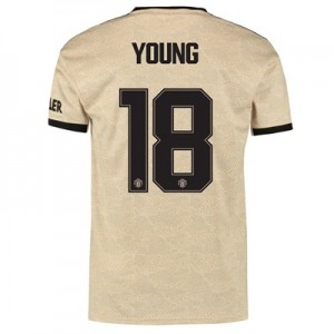 Manchester United Cup Away Shirt 2019 - 20 with Young 18 printing