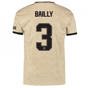 Manchester United Cup Away Shirt 2019 - 20 with Bailly 3 printing