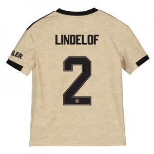 Manchester United Cup Away Shirt 2019 - 20 - Kids with Lindelof 2 printing