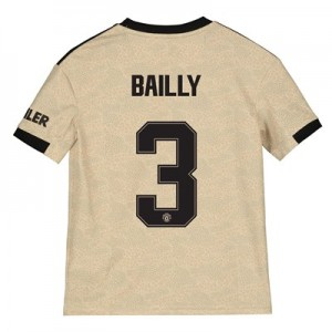 Manchester United Cup Away Shirt 2019 - 20 - Kids with Bailly 3 printing