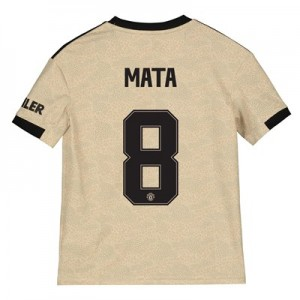 Manchester United Cup Away Shirt 2019 - 20 - Kids with Mata 8 printing