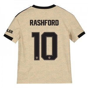 Manchester United Cup Away Shirt 2019 - 20 - Kids with Rashford 10 printing