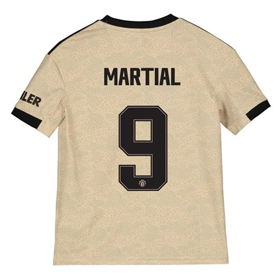 Manchester United Cup Away Shirt 2019 - 20 - Kids with Martial 9 printing