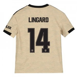 Manchester United Cup Away Shirt 2019 - 20 - Kids with Lingard 14 printing