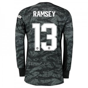 Manchester United Cup Away Goalkeeper Shirt 2019 - 20 with Ramsey 13 printing