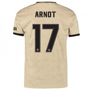 Manchester United Cup Away Shirt 2019 - 20 with Arnot 17 printing
