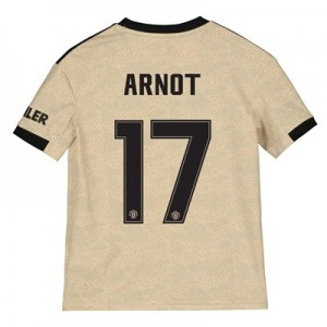 Manchester United Cup Away Shirt 2019 - 20 - Kids with Arnot 17 printing