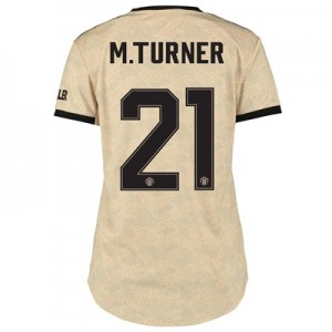 Manchester United Cup Away Shirt 2019 - 20 - Womens with M.Turner 21 printing