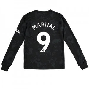 Manchester United Third Shirt 2019 - 20 - Kids - Long Sleeve with Martial 9 printing