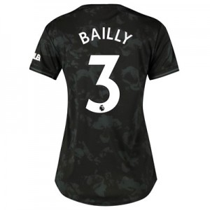 Manchester United Third Shirt 2019 - 20 - Womens with Bailly 3 printing