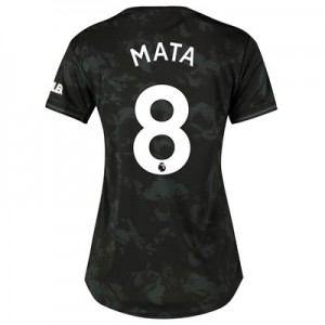 Manchester United Third Shirt 2019 - 20 - Womens with Mata 8 printing