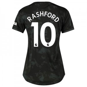 Manchester United Third Shirt 2019 - 20 - Womens with Rashford 10 printing