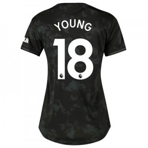 Manchester United Third Shirt 2019 - 20 - Womens with Young 18 printing