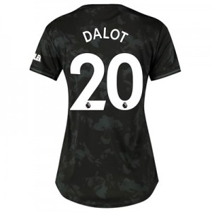 Manchester United Third Shirt 2019 - 20 - Womens with Dalot 20 printing