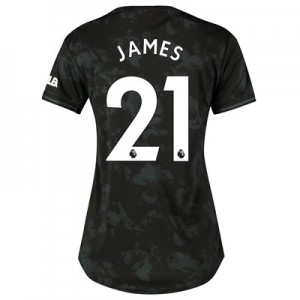 Manchester United Third Shirt 2019 - 20 - Womens with James 21 printing