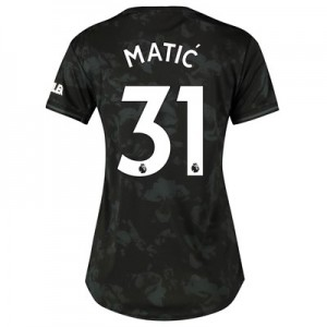 Manchester United Third Shirt 2019 - 20 - Womens with Matic 31 printing