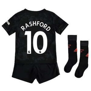 Manchester United Third Mini Kit 2019 - 20 with Rashford 10 printing