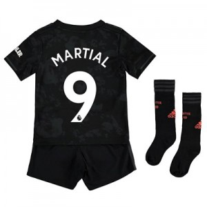 Manchester United Third Mini Kit 2019 - 20 with Martial 9 printing