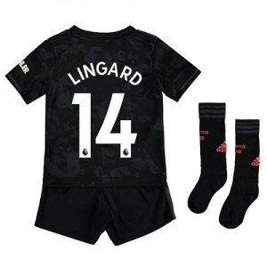 Manchester United Third Mini Kit 2019 - 20 with Lingard 14 printing