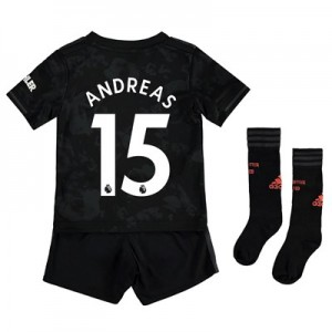 Manchester United Third Mini Kit 2019 - 20 with Andreas 15 printing