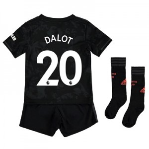 Manchester United Third Mini Kit 2019 - 20 with Dalot 20 printing