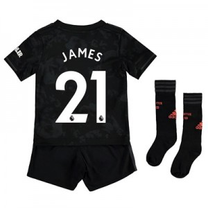 Manchester United Third Mini Kit 2019 - 20 with James 21 printing