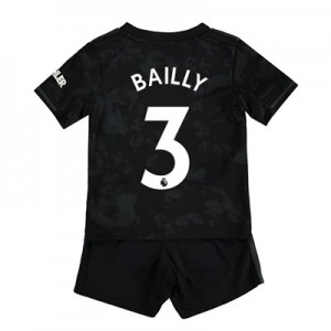 Manchester United Third Baby Kit 2019 - 20 with Bailly 3 printing