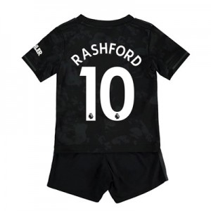 Manchester United Third Baby Kit 2019 - 20 with Rashford 10 printing