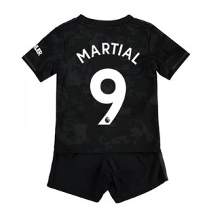Manchester United Third Baby Kit 2019 - 20 with Martial 9 printing