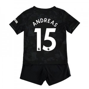 Manchester United Third Baby Kit 2019 - 20 with Andreas 15 printing