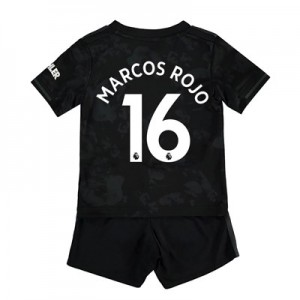 Manchester United Third Baby Kit 2019 - 20 with Marcos Rojo 16 printing