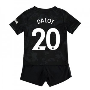 Manchester United Third Baby Kit 2019 - 20 with Dalot 20 printing