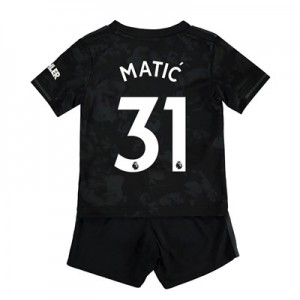 Manchester United Third Baby Kit 2019 - 20 with Matic 31 printing
